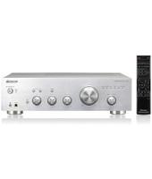 Pioneer A-20-S 2.0 Casa Cablato Argento amplificatore audio