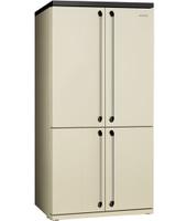 Smeg FQ960P Libera installazione A+ Crema frigorifero side-by-side
