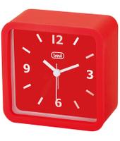 Trevi SL 3820 Quartz alarm clock Rosso, Bianco
