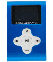 Xtreme Lettore MP3 + TF Card 4GB + FM Blu